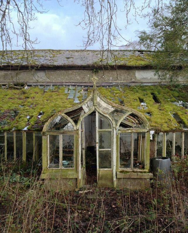 Gothic Victorian Greenhouse in Ireland Victorian