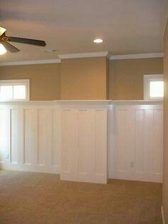 Cap Idea For Basement Wall Basement Walls Basement Remodeling Basement Makeover