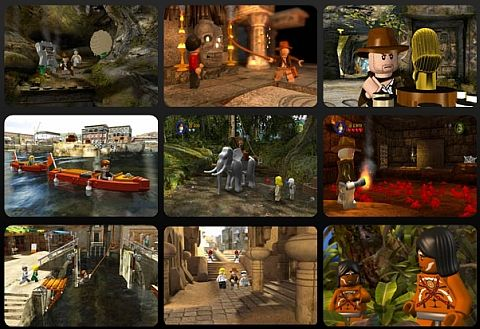 Lego indiana jones gameplay and scenes. These scenes are from the ...
