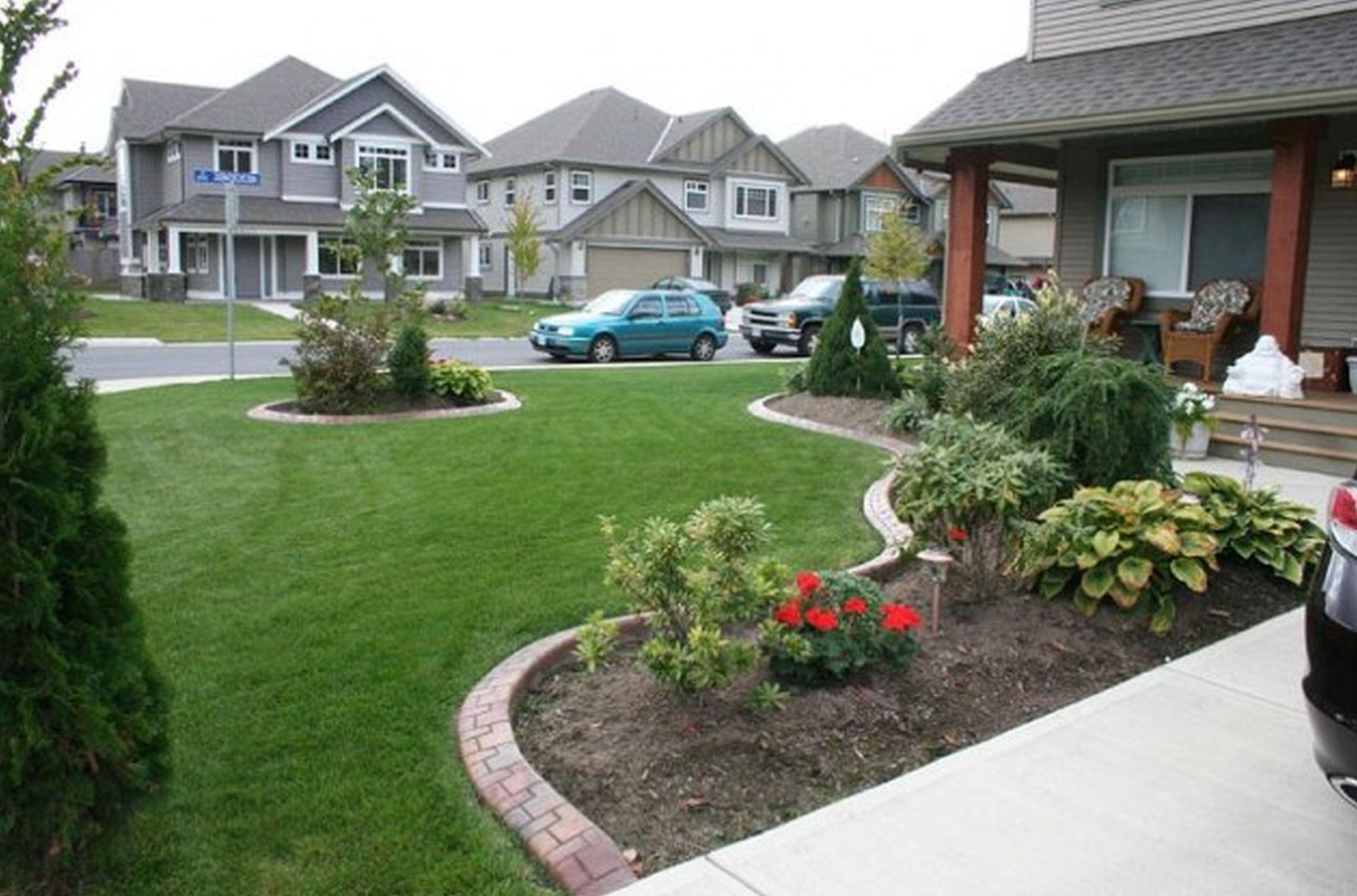 Elegant Simple Design Modern Landscape Ideas For Front