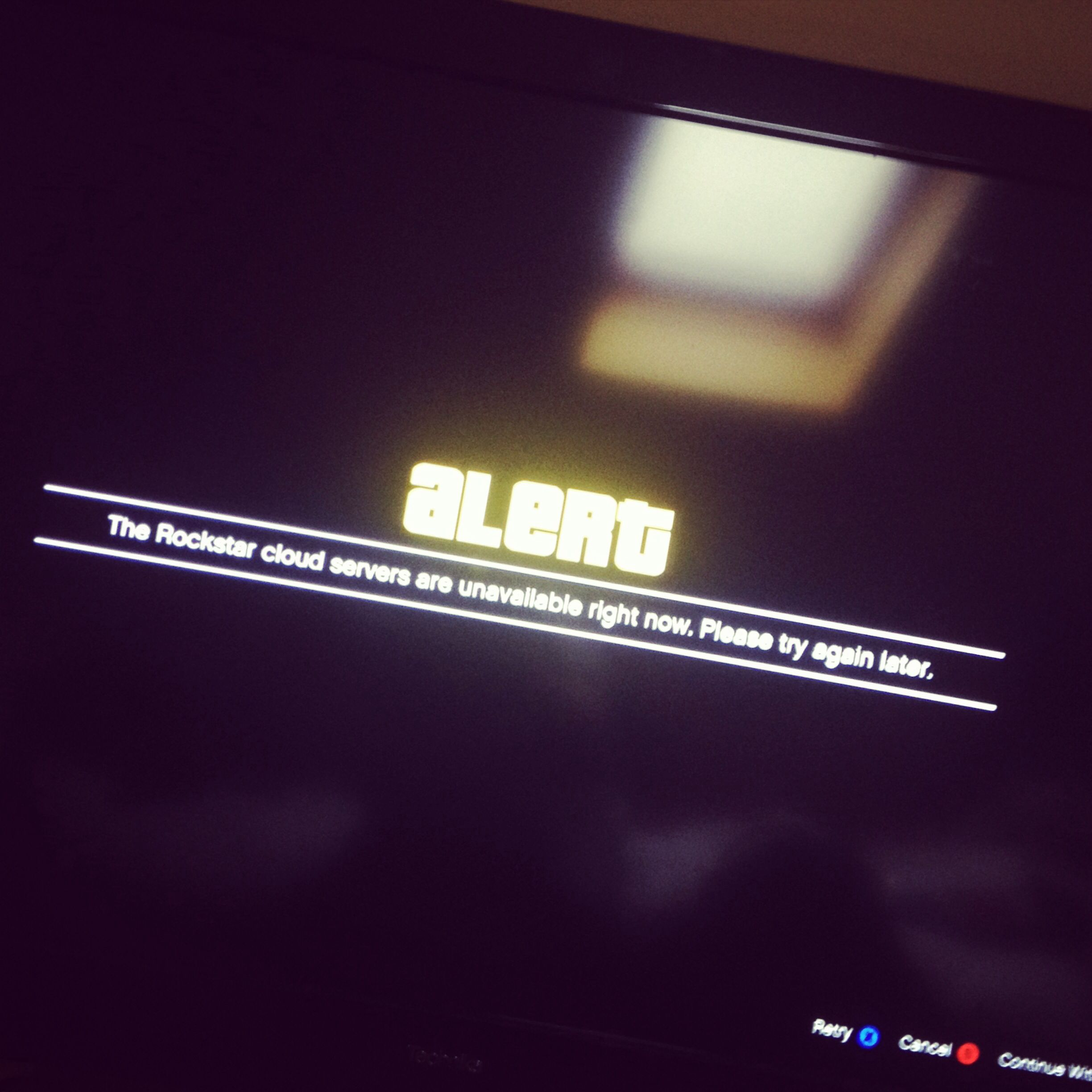 C'mon Rockstar, sort it out! #Rockstar #games #gaming #GTA #gta5 #gtaonline #XBOX #PS3 #servers