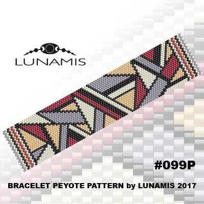 peyote bracelet pattern even count peyote pattern stitch pattern