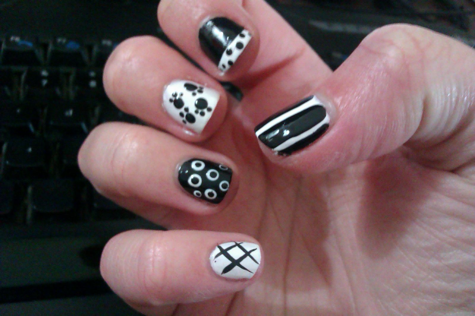 Cute Nail Designs Easy Do Yourself Step By Step Nail Arts