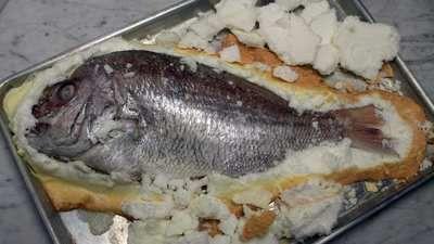 Salt Roasting Fish
