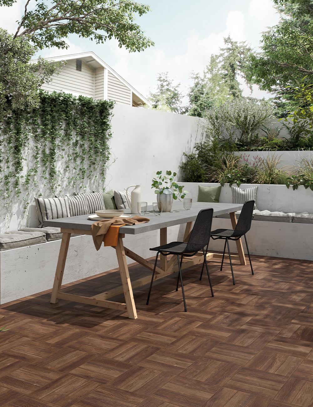 Pavimenti In Legno Per Terrazzi preparati a rivivere giardino e terrazzo con il gres