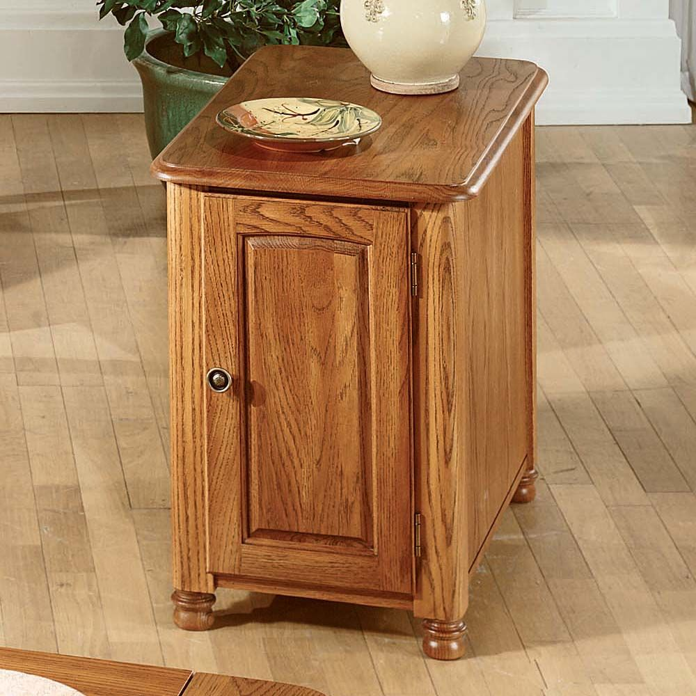 Peters Revington 3932 Marion County Chairside Cabinet Living Room Furniture Decor Home Furnishings [ 1000 x 1000 Pixel ]