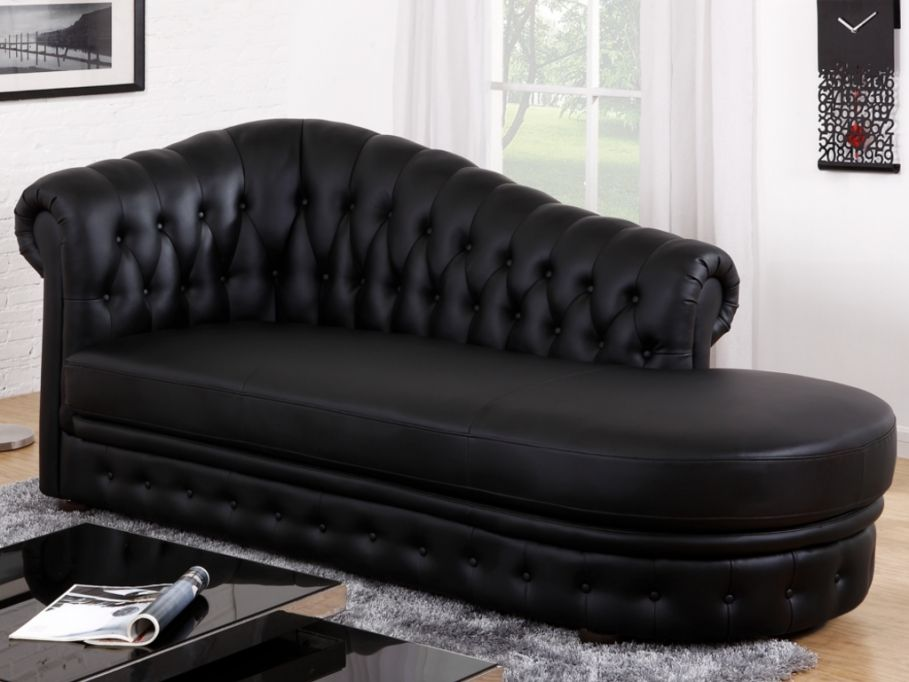 m ridienne chesterfield en simili defile vente unique pinterest d fil noir chesterfield. Black Bedroom Furniture Sets. Home Design Ideas