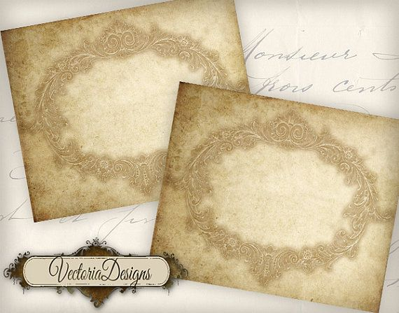 Blank Vintage Labels Printable Add Your Own Text Vd0553 Etsy Vintage Labels Printable Image Beauty Products Labels