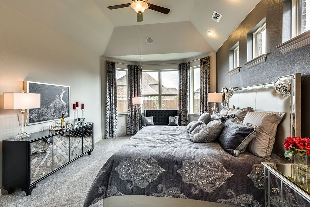 Gehan Homes - Master Bedroom Dallas, Texas