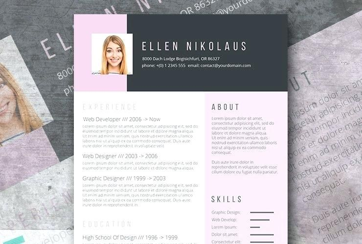 a free creative resume template fancy templates word