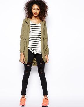 Vero moda jeans parka