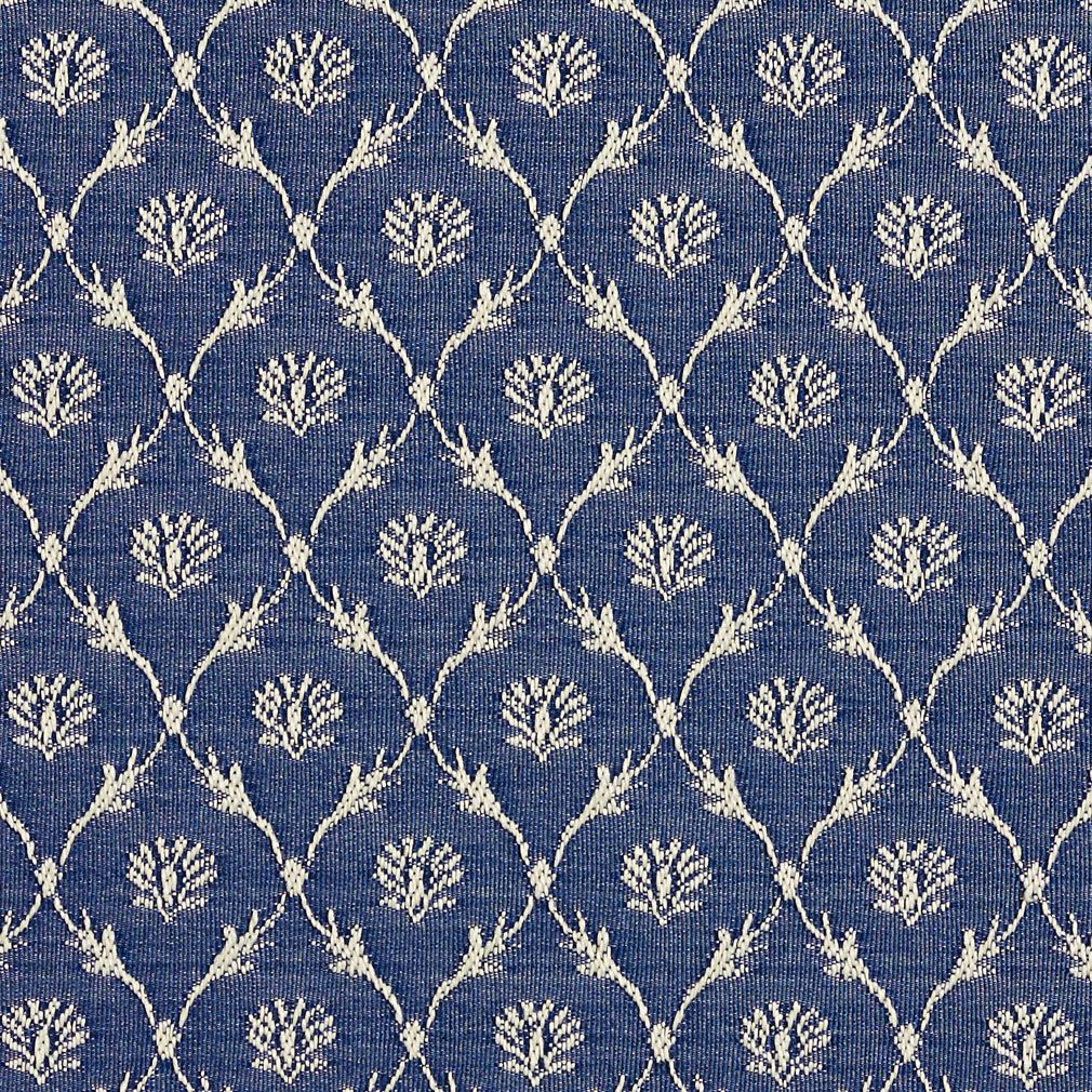Wedgewood Blue And White Cameo Floral Trellis Dimond Pattern