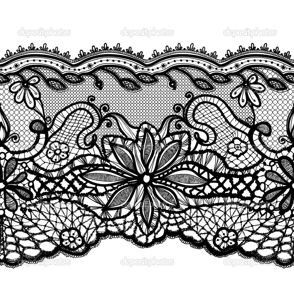Lace Design Drawing Google Search Lace Drawing Lace Tattoo Lace Pattern