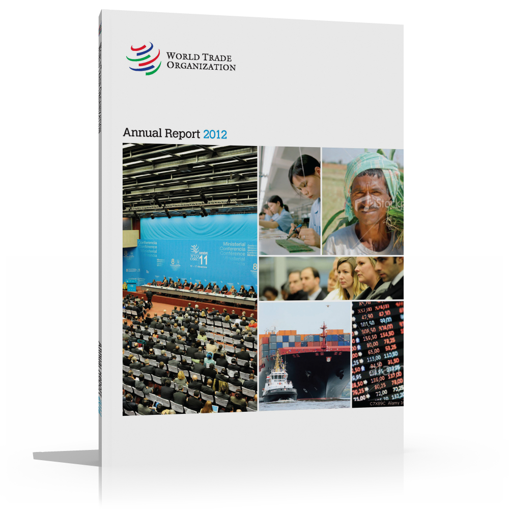 FORTHCOMING:   Annual Report 2012  The WTO Annual Report 2012 covers the WTO's activities in 2011. The first part of the Report provides a brief summary of the organization and an overview of 2011. The second part provides more in-depth information.    May 2012