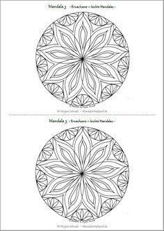 pin auf mandalas zum ausdrucken für kinder + erwachsene