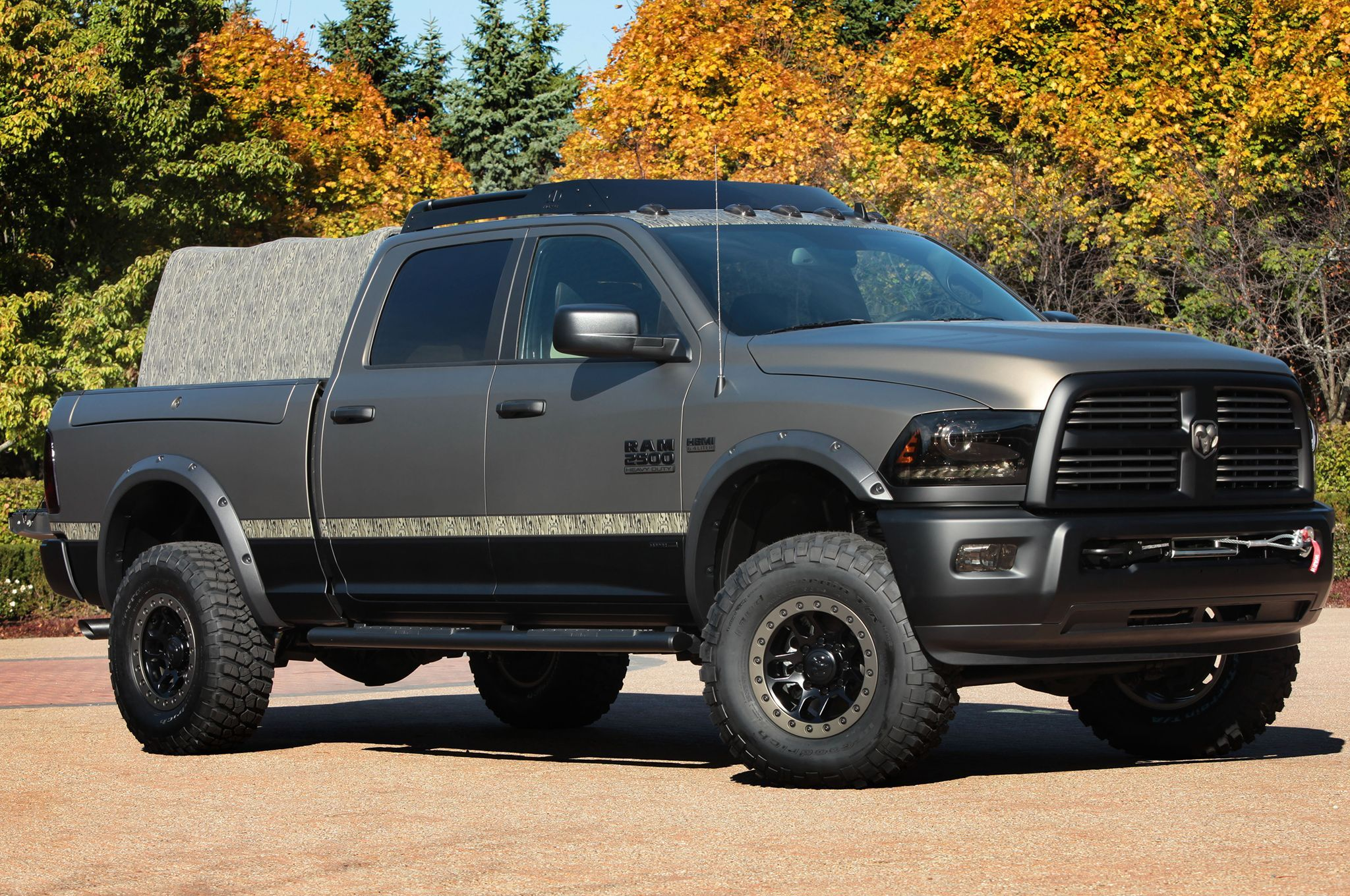 truck what pickup at by guy steps dodge grille s happening with guard and garrettdodge tonneau cover whatshappening accessories the