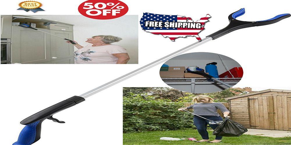 Details about Aluminum Grabber Pick Up Tool Seniors