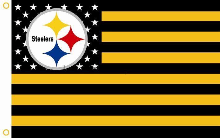 Pittsburgh Steelers Nfl Flags American Flag Steelers Flag Nfl Flag