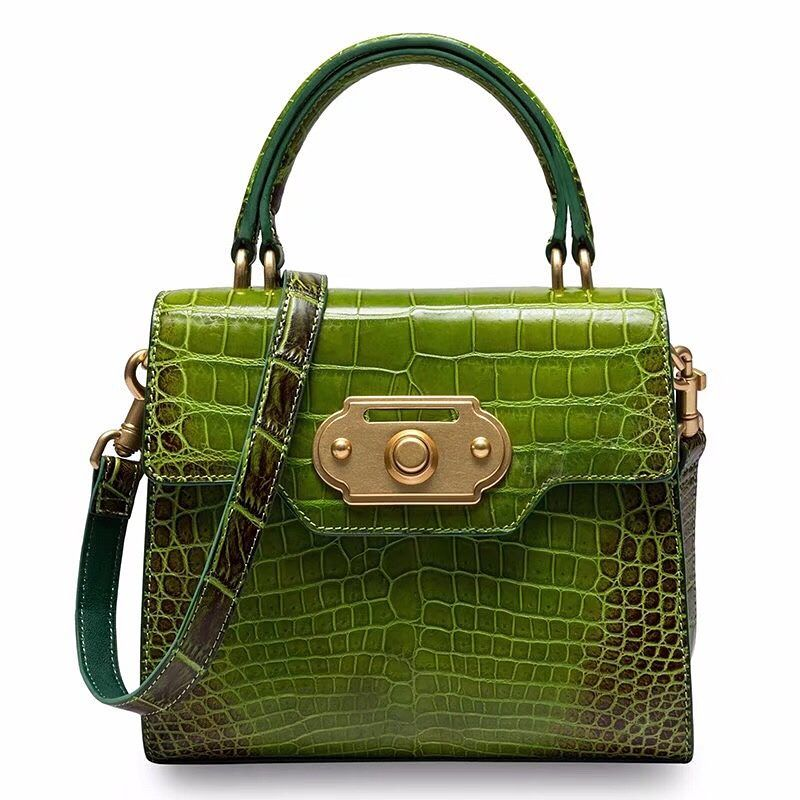 d2cd89e576 Designer Alligator Handbag Ladies Alligator Shoulder Purse Bag in ...