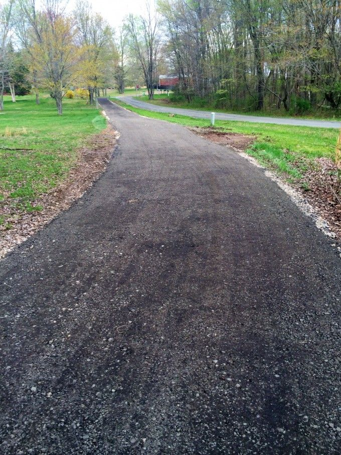 Pin By Seth Gessler On Pole Barn Asphalt Driveway