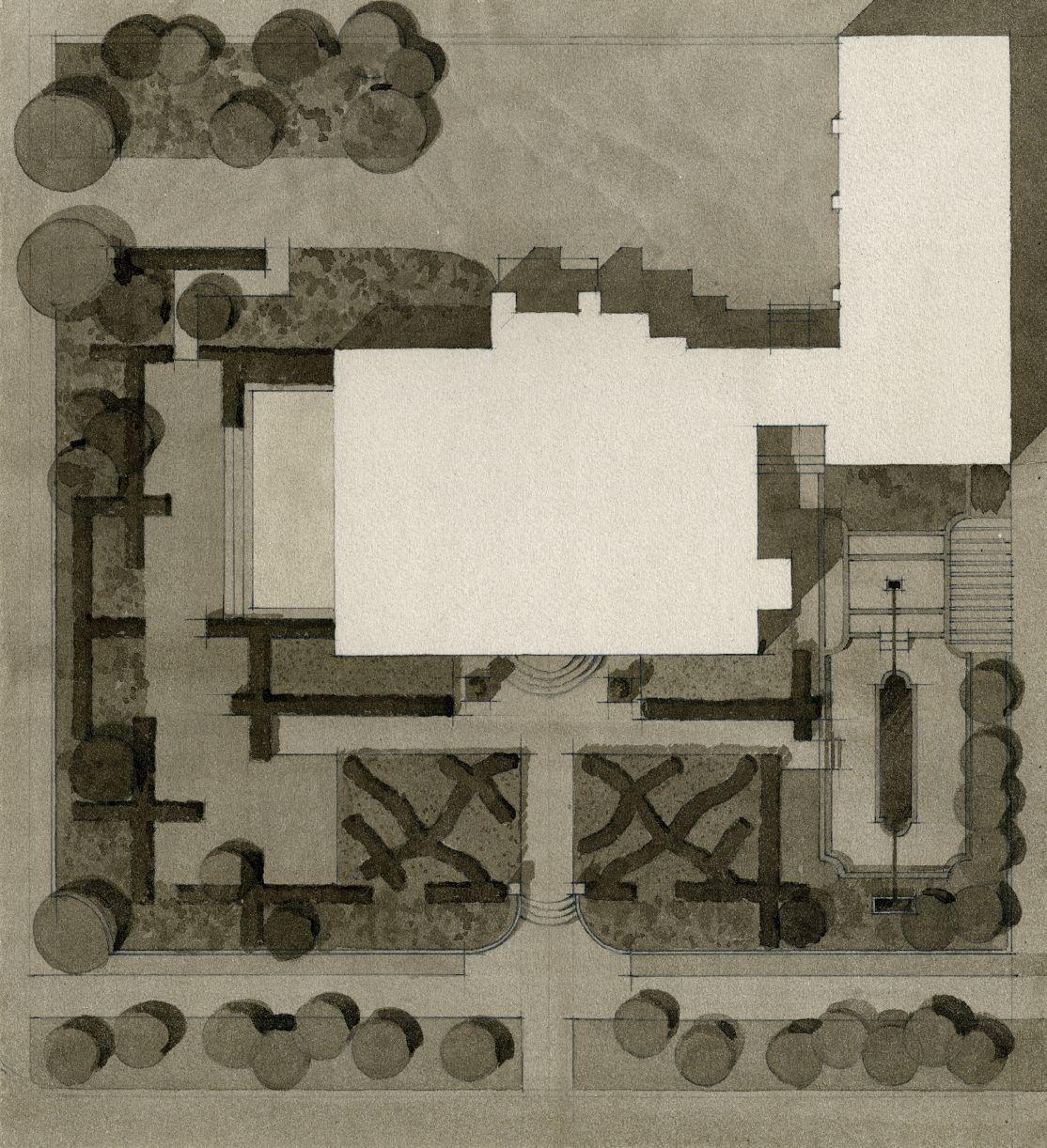 minneapolis town house usa arne maynard garden design