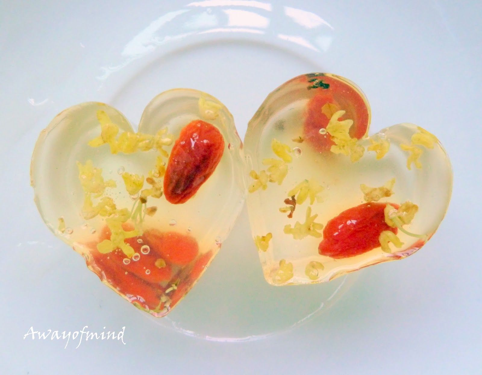 Awayofmind bakery house osmanthus jelly jellies for Asian cuisine dessert