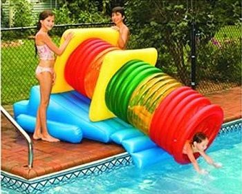 The Water Park Inflatable Pool Slide Will Provide Your Children With Many  Exciting Fun Filled