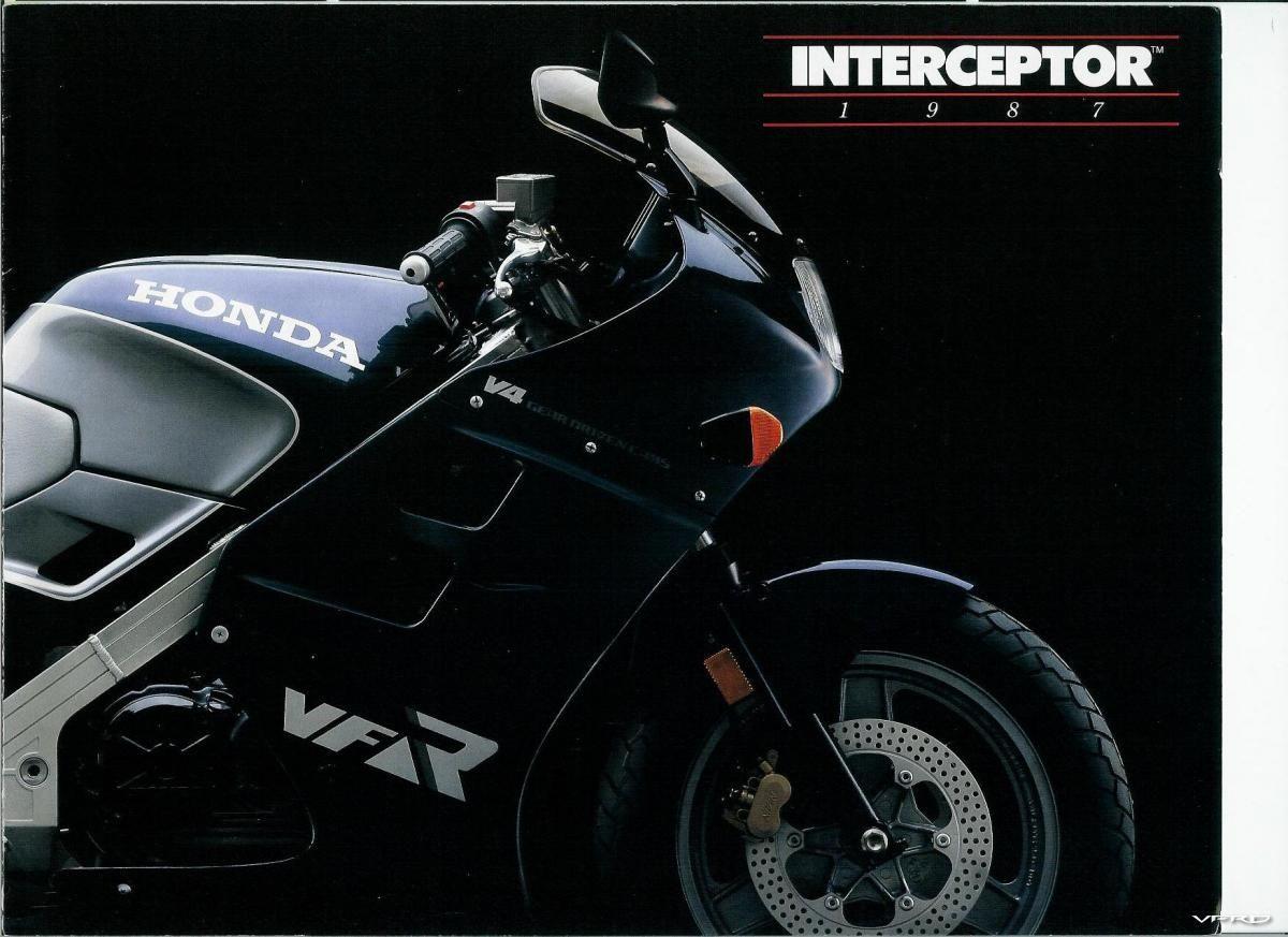 1987 Honda VFR750 Interceptor