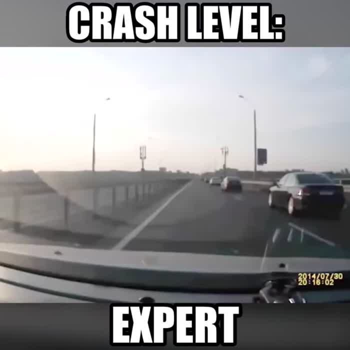 Crash Level Expert Funny Pictures Haha Humor