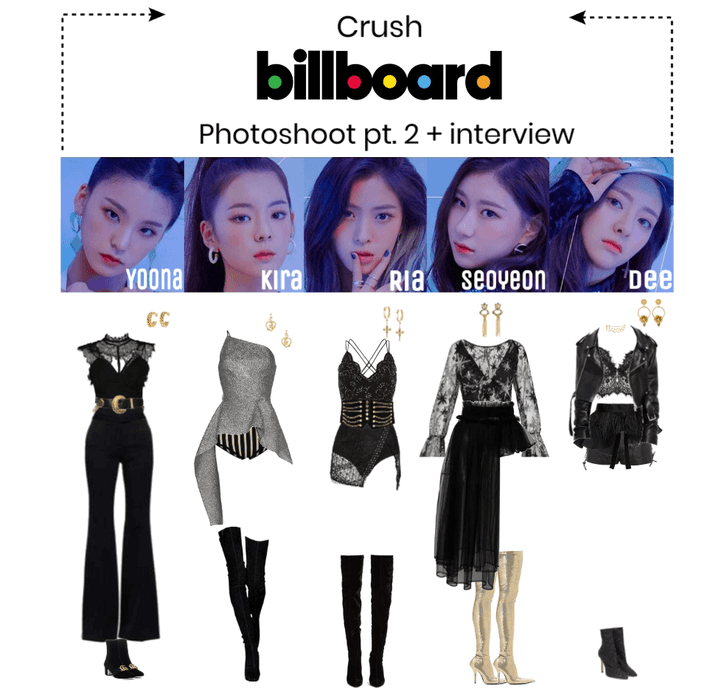 Billboard Photoshoot Pt 2 Interview Stage Outfits Kpop Fashion Outfits Girls Attire
