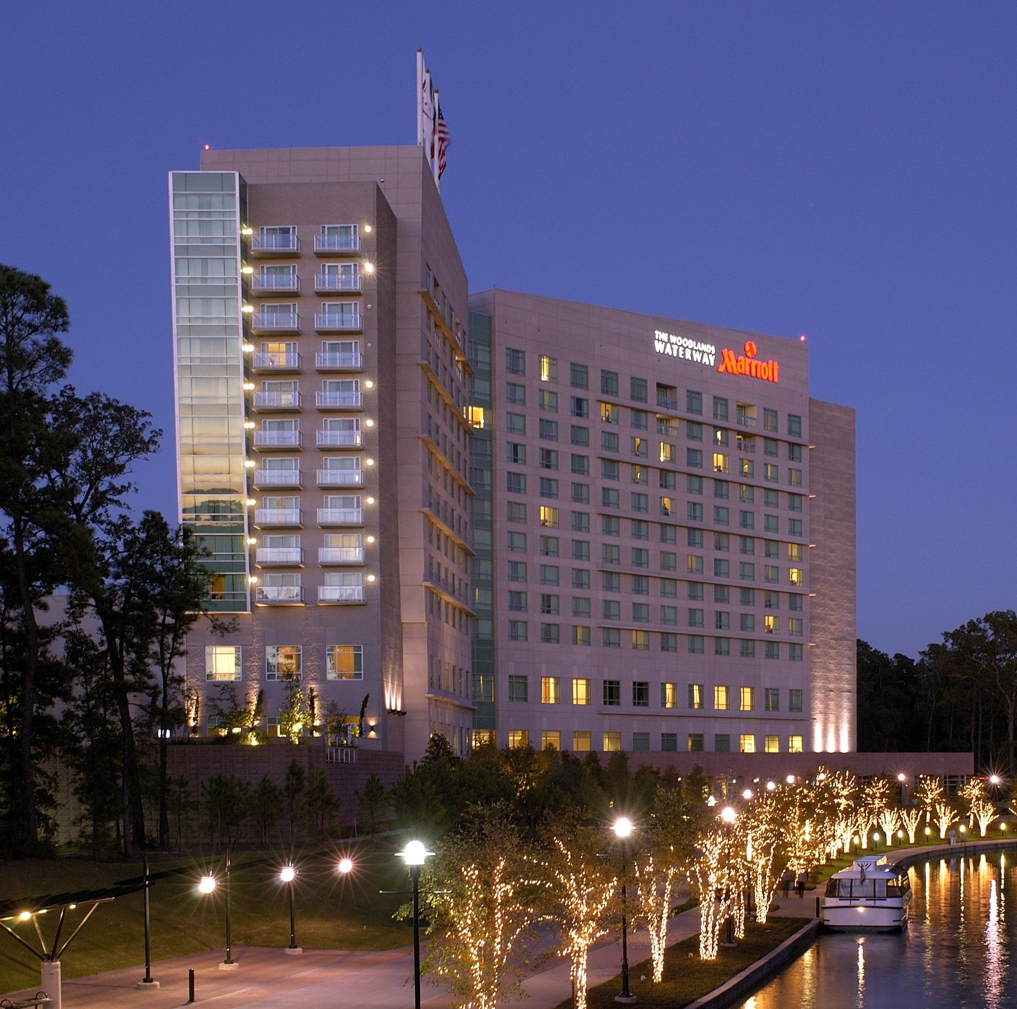 The Woodlands Waterway Marriott Hotel And Convention Center Texas Site Of 2005 Npc Meeting