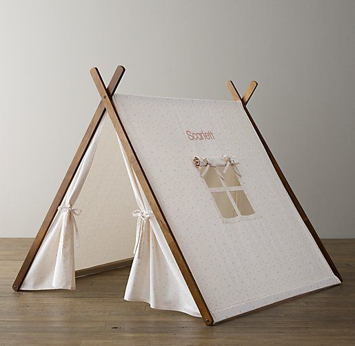 Printed Canvas A-Frame Tent Pink Star | Kids Christmas | Pinterest ...