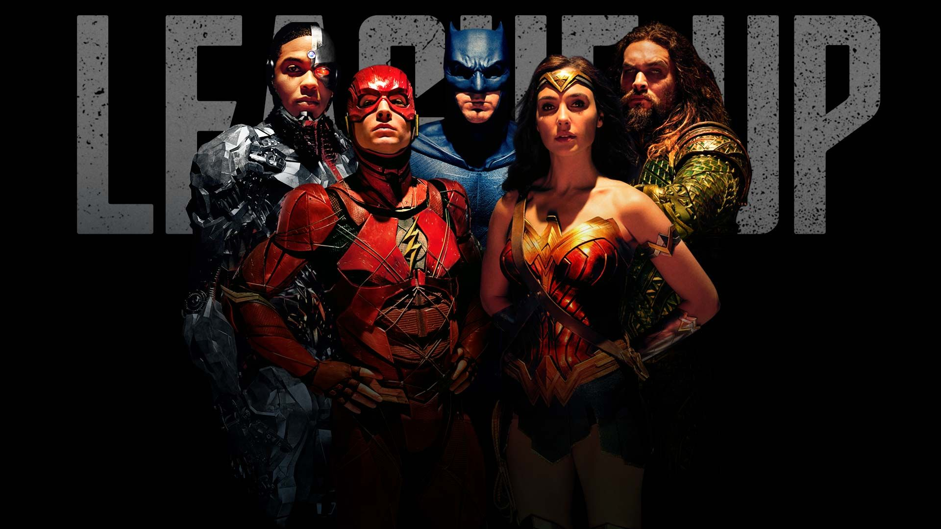 Justice League Batman Wonder Woman Aquaman The Flash And