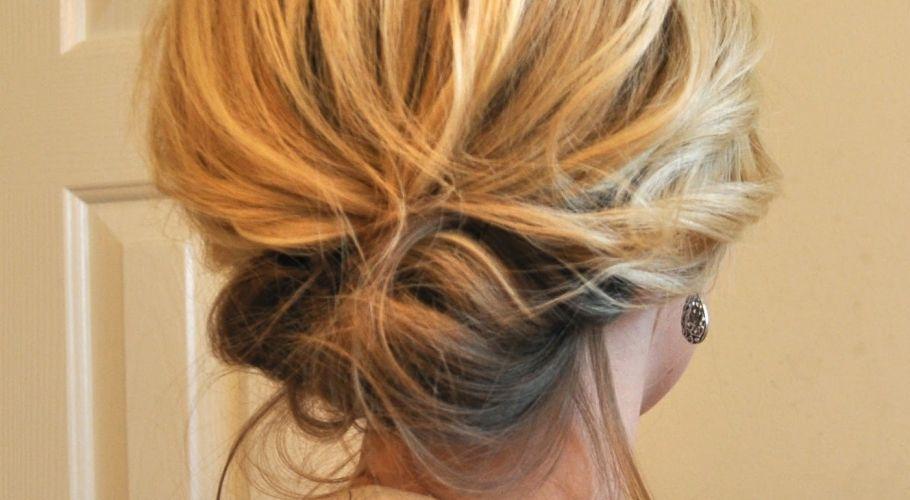 Recogidos bajos ideas de peinados desenfadados - Peinados monos modernos ...