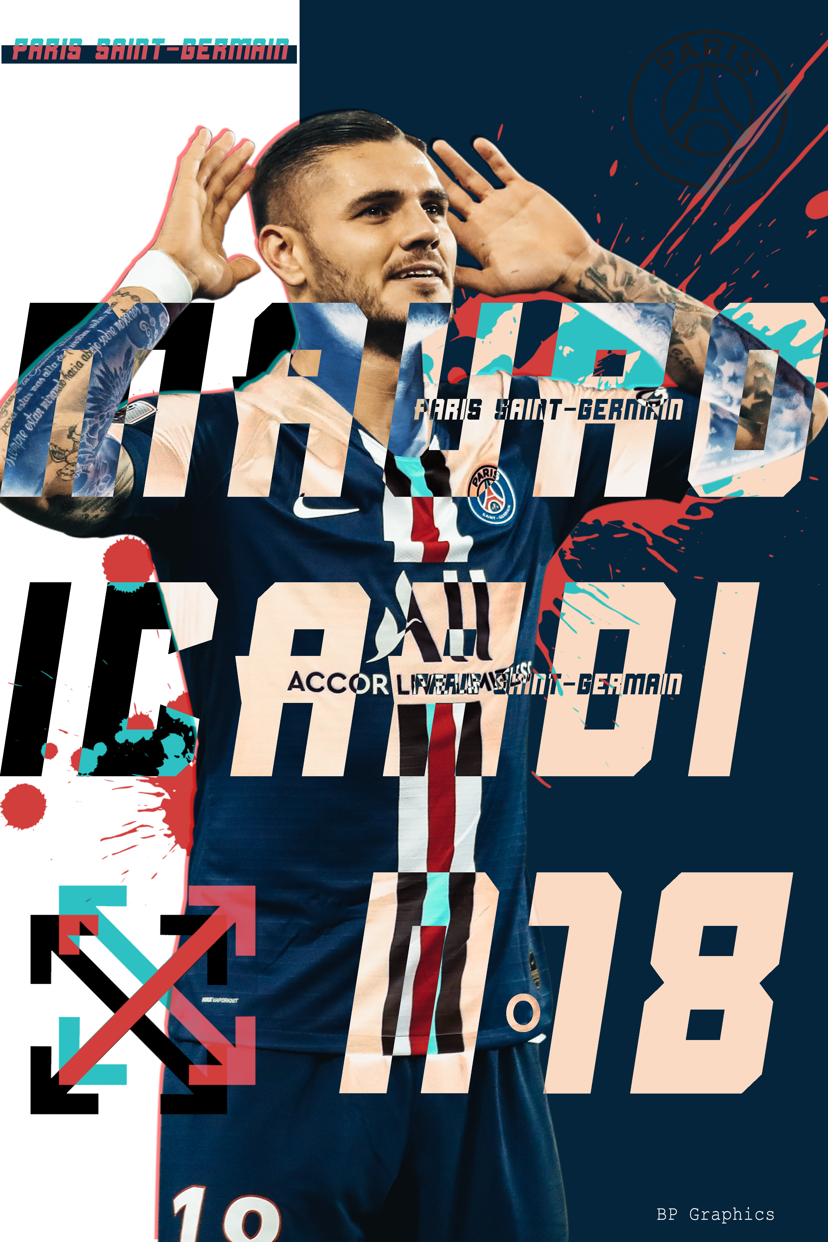 Mauro Icardi x PSG in 2020 Psg, Dortmund, Mauro icardi