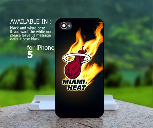 Miami Heat Logo - iPhone 5 Case | BestCover - Accessories on ArtFire