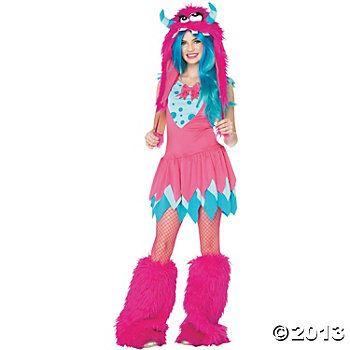 Mischief Monst Teen Girl\u0027s Costume Holiday spirit Pinterest - cute teenage halloween costume ideas