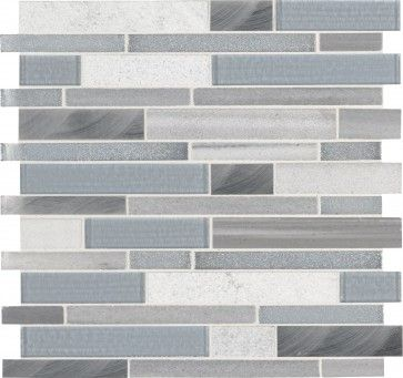 harlow interlocking 8mm #mosaic #tiles for #kitchen and #