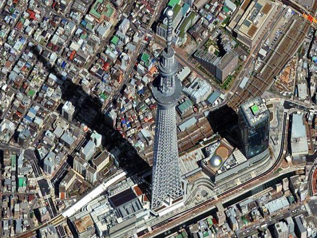 The Best Satellite Images From DigitalglobeSandouping China - The best satellite maps