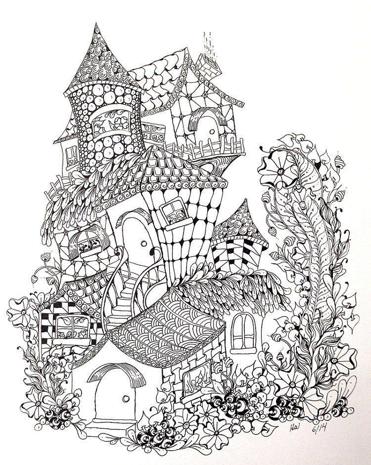 Ираида Цехош | Рисунки для раскрашивания, Раскраски ...