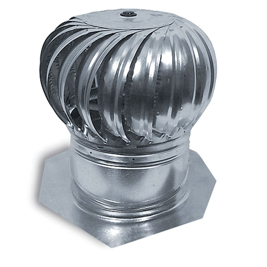 Master Flow 12 In Aluminum Internally Braced Roof Turbine Vent Lowes Com Galvanized Steel Roof Turbine