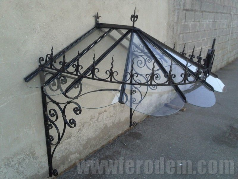 Marquise Fer Forge Auvent Ce Norme MARQUISE EN FER