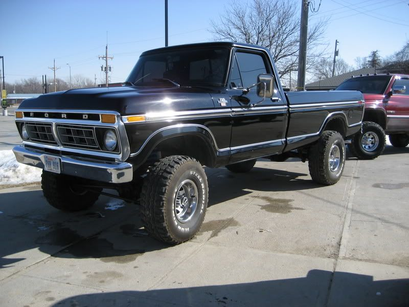 77 Ford Or A 77 Ford F250 With A Diesel Swap Big Ford Trucks