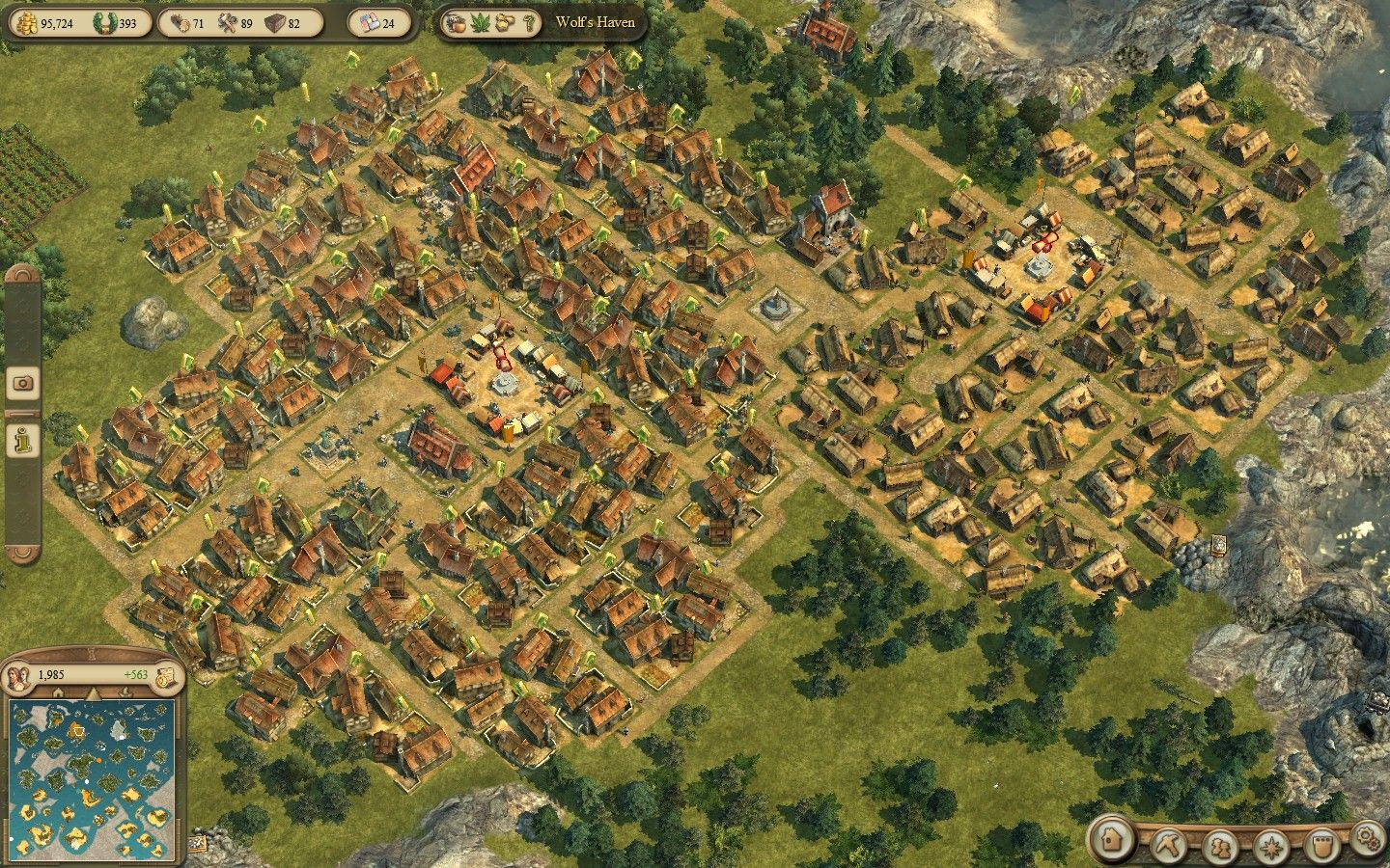 anno 1404 UI - Google Search | Cool UI | Clash of clans