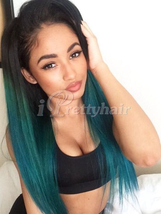 Cheap Colored Lace Front Wigs Synthetic Heat Resistant For