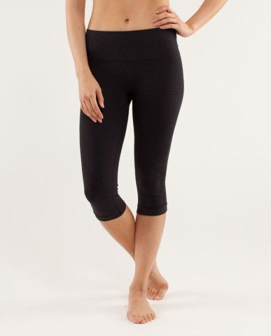d01fe021d630df Just got these crop workout pants - seriously, the best! They stay in place  (no more hiking them up while working out) - super comfy - and I don't know  what ...