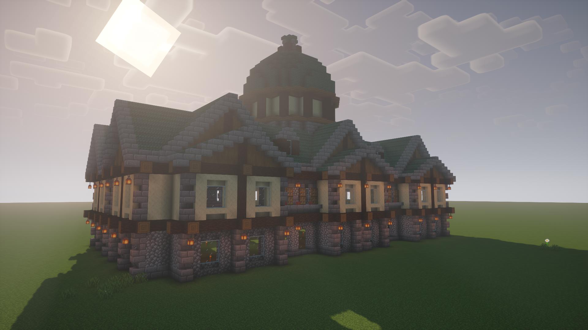 Copper roof mansion By u/kamojama