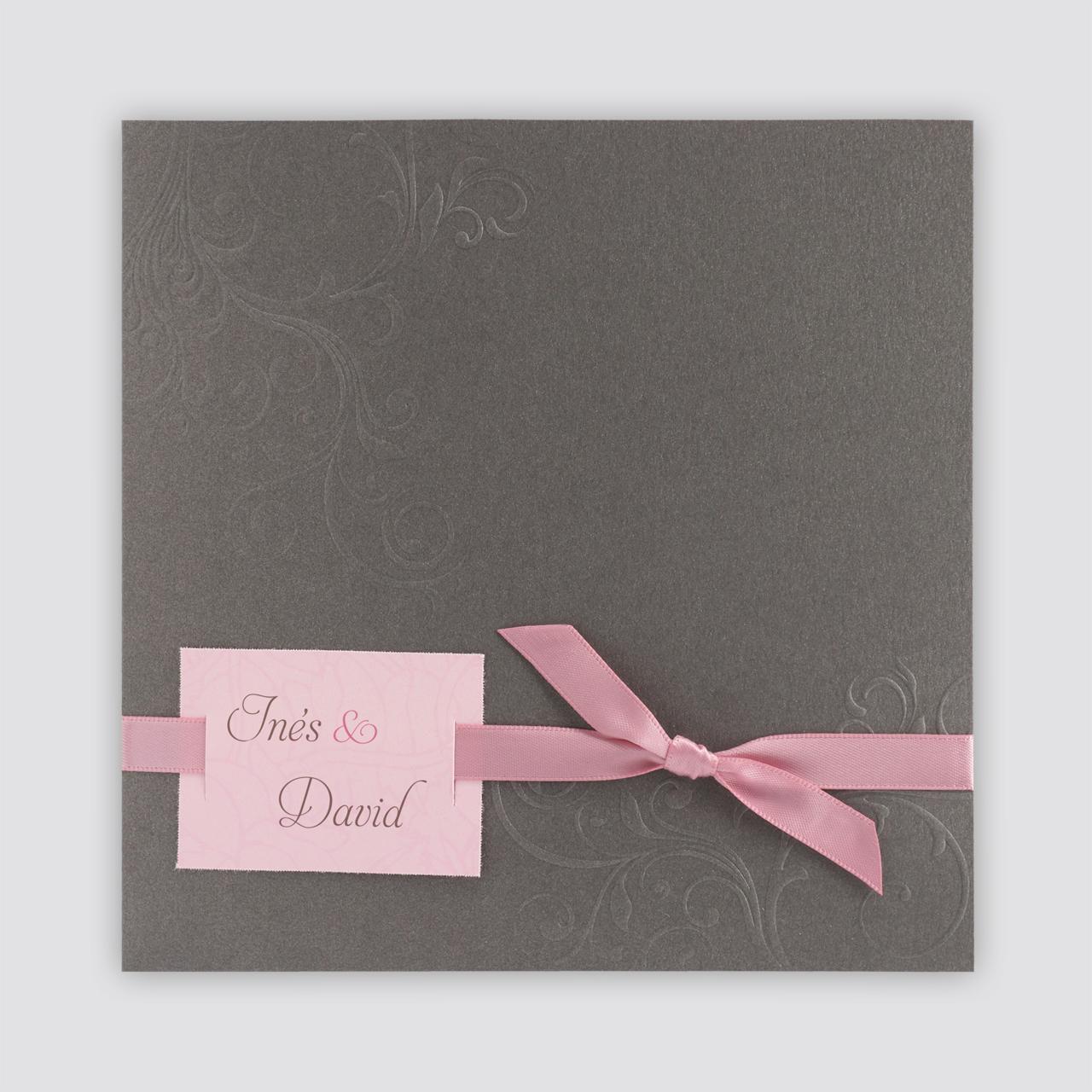 Moderne Hochzeitseinladungen Altrosa Hochzeitskarten Karte Hochzeit Hochzeitseinladung Romantische Hochzeitseinladungen
