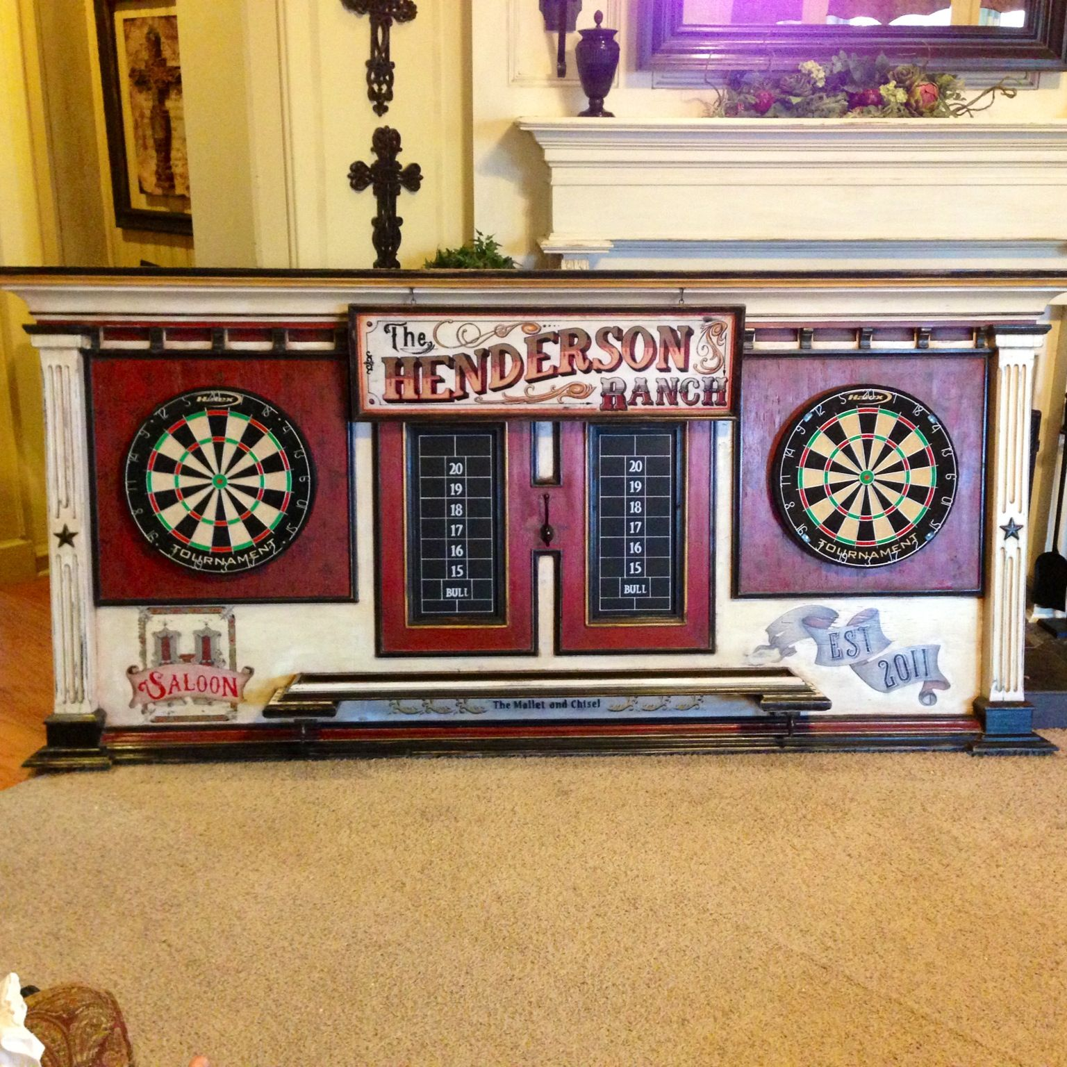 Henderson double dartboard Dartboards, Projects to try