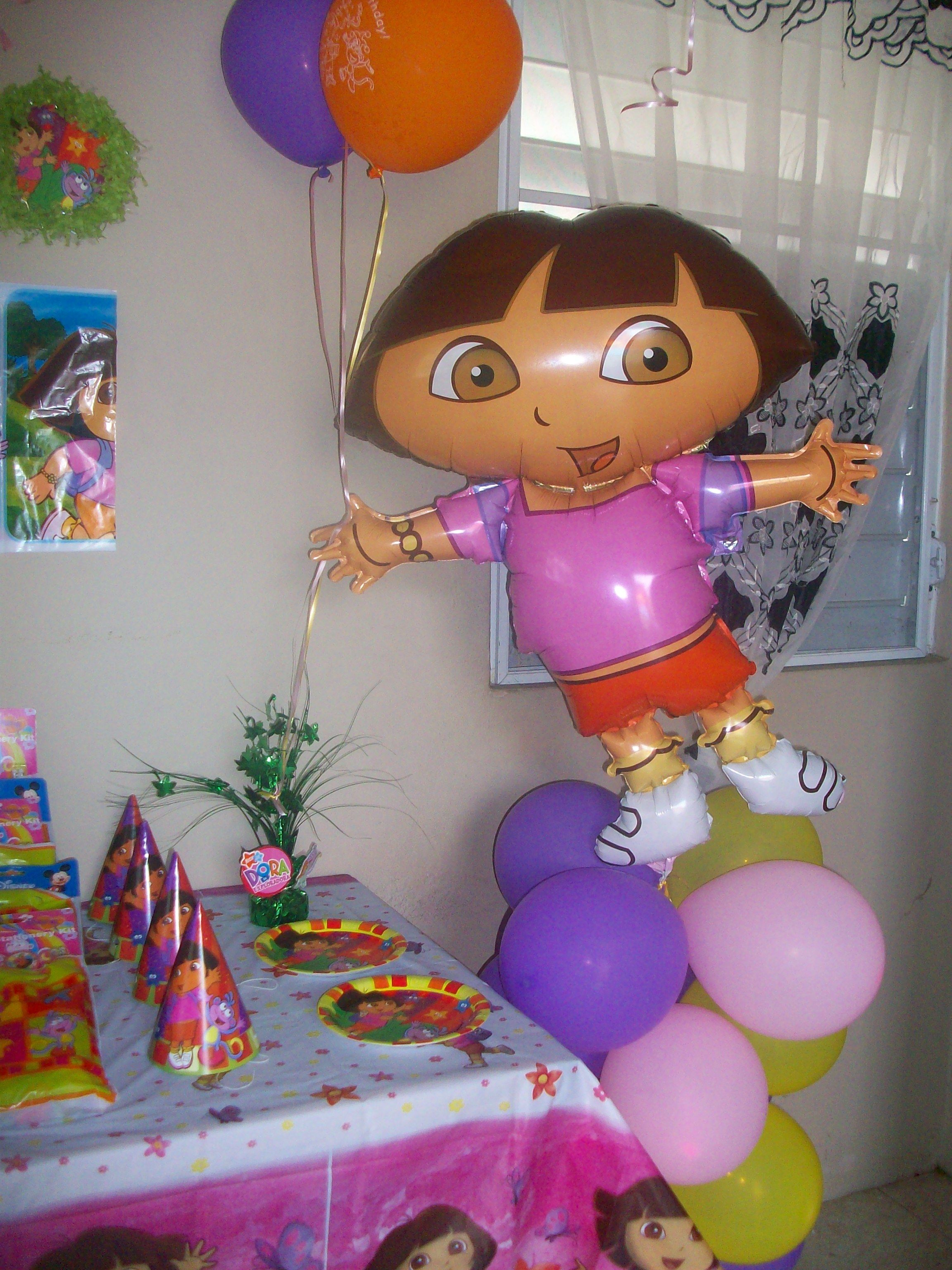 My Daughters 3 Year Old Birthday Party Of Dora